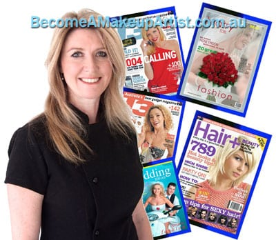 Collage Lyanne and Magazine covers